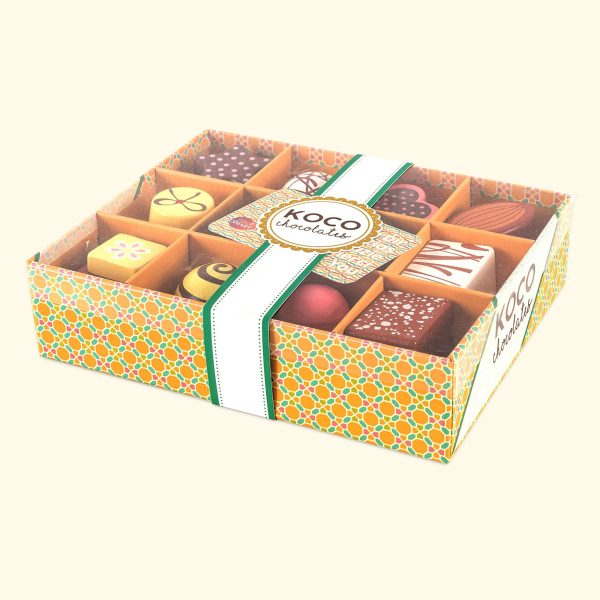 KOCO Wooden Chocolates Box
