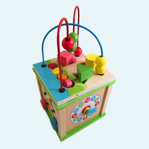 Best Wooden Activity Cube For Kids