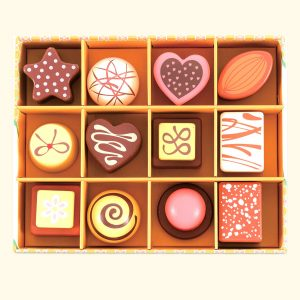 Best Chocolate Selection Box for kids tea party