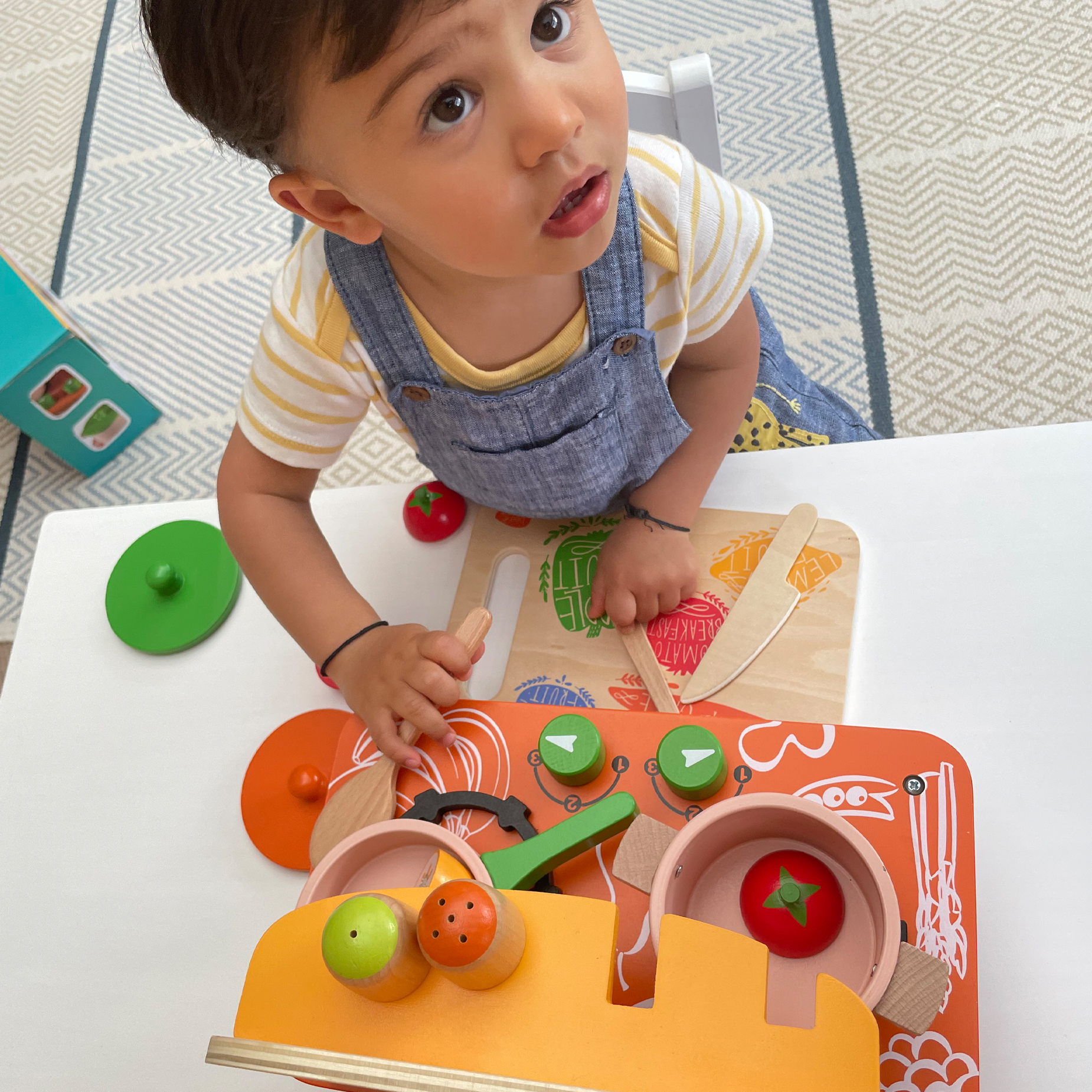 Wooden Kitchen Set for 3+ years Kids