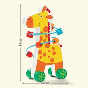 Giraffe Bead Maze Playset