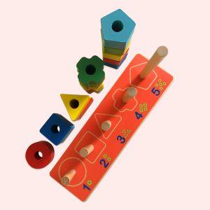 Activity Wooden Play Set
