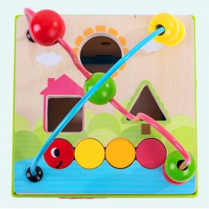 Classic Wooden Activity Cube