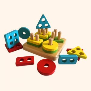 Geometric Shapes toy for toddlers