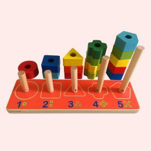 Geometric Blocks for Toddlers