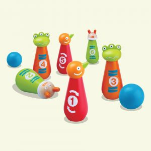 Wooden Bowling Balls Toy for Kids