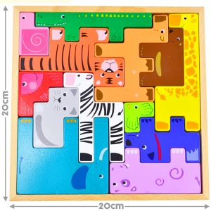 Animal Stacking Puzzle Set for kids