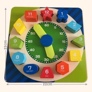 Teaching Clock Toy for Toddler