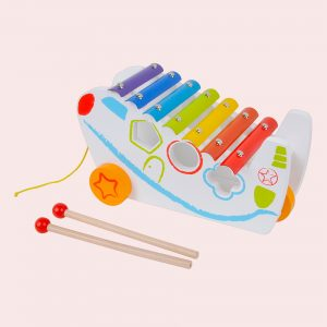 Kids Personalised Wooden Xylophone