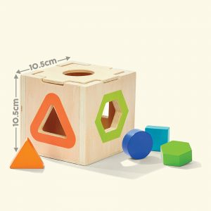 Rainbow Stacker Stacking Toy 10.5X10.5 cm