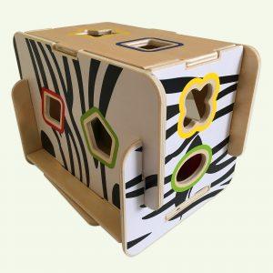 Wooden Shape Sorter Zebra Payset