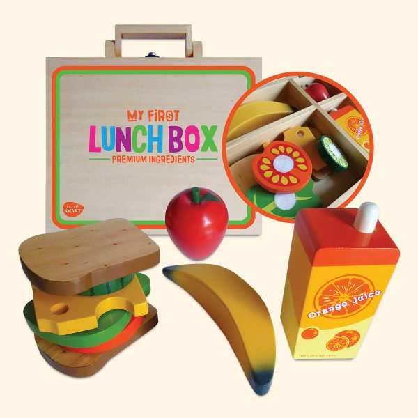Wooden My First Lunch Box