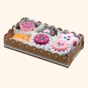 Wooden Cakes Selection Toys Set