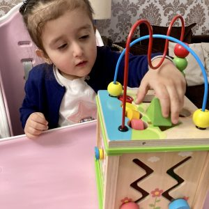 Wooden Shape Sorter Cube For Your Little Ones