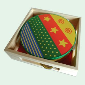 Wooden Musical Tambourine Toy