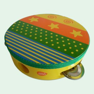 Wooden Musical Tambourine Toy for kids