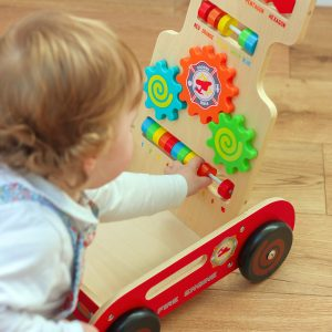 Little One with wooden Activity Walker