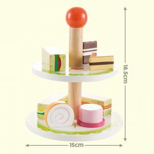 Wooden Tea Playset 18.5cm X 15cm