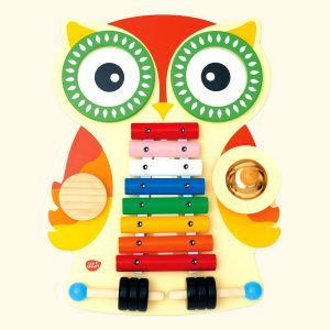 Colorful & Smart Owl Musical Toy for Kids