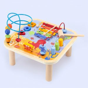 Wooden Multi Activity Table for Preschool educational learning