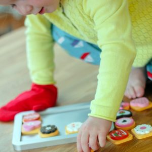Colourful Biscuit Baking Set For Kids
