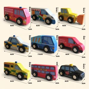 Wooden Vehicles for imaginative and educational fun play