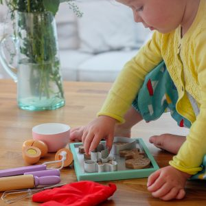 Role Play Wooden Cookie Baking Set