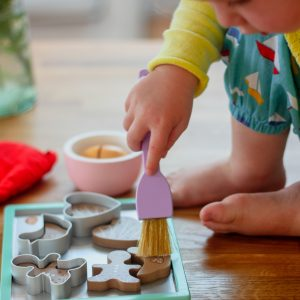 Playtime Kitchen Toy - 3 Cookie Cutters